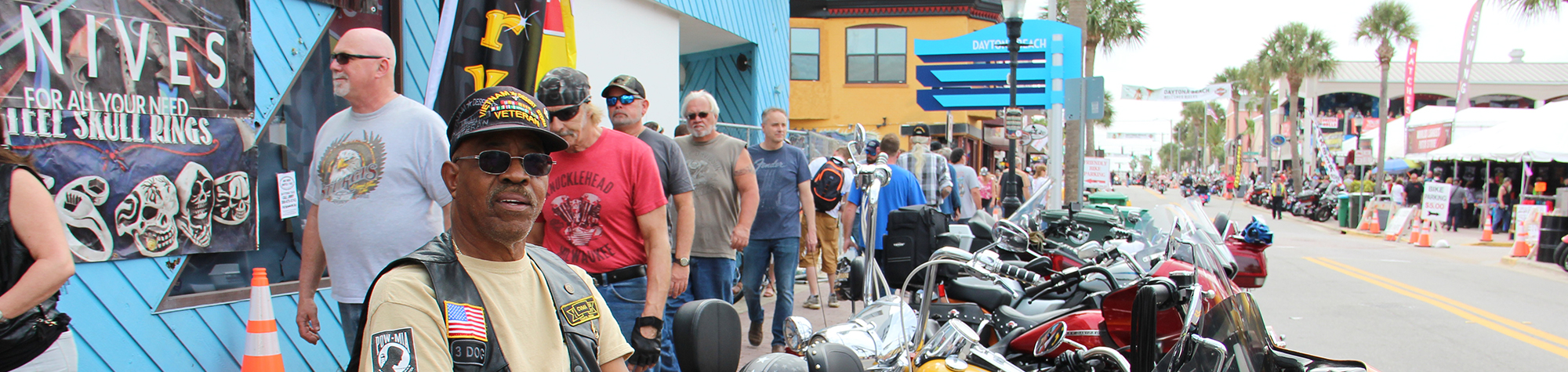 Daytona Bike Week Photos – March 10th 2020