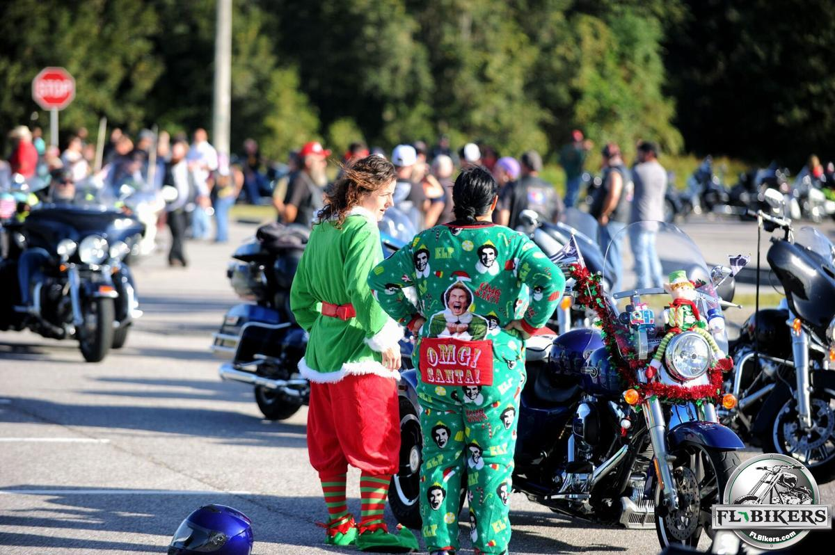 The Motorcycle Community Continues to Give Back during a COVID Christmas