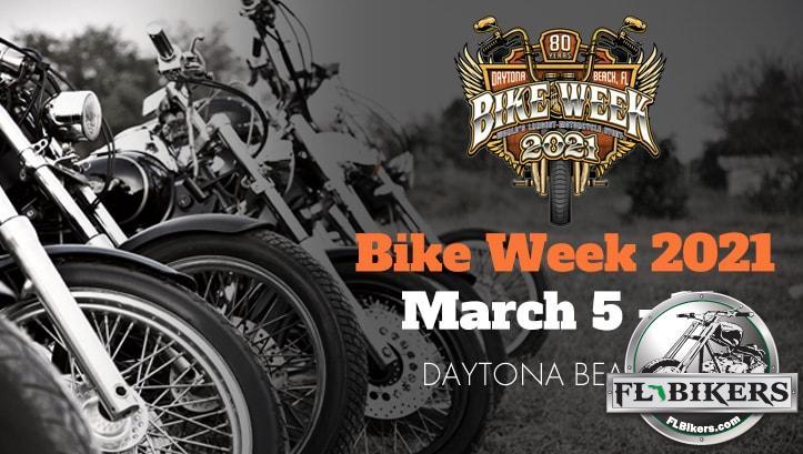 2021 Daytona Bike Week Schedule of Events